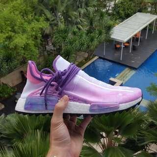 Adidas Pharrell Nmd Hu Pink Glow