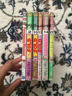 Cerita Panjang Doraemon Vol. 2, 8, 10, 12, 14 & 20