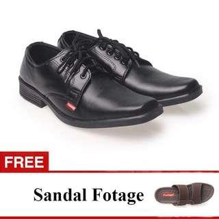 Sepatu Pantofel Kulit Pria Free Gratis Sandal Footage