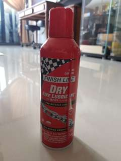 Finish Line Dry Bike Lubricant Spray 224ml