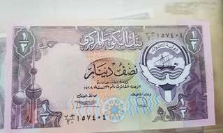 钞票科威特 bank note Kuwait uncirculated