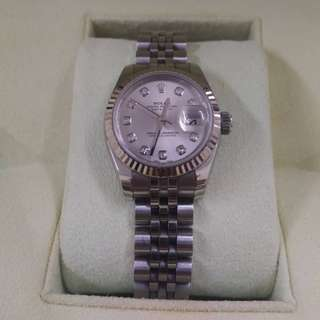 PREOWNED ROLEX Lady Datejust 179174