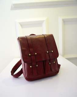 Vintage Korean Backpack