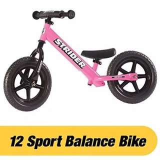 Preloved Strider Sport 12 Balance Bike