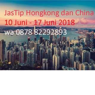 JasTip Hongkong, China, Malaysia