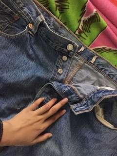 Celana jeans levi's bigsize