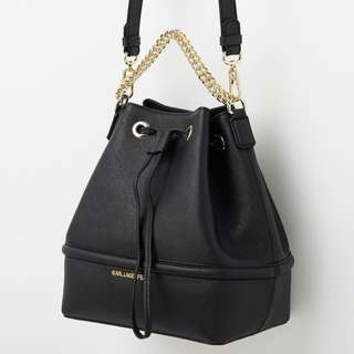 Karl Lagerfeld Drawstring Bucket Bag
