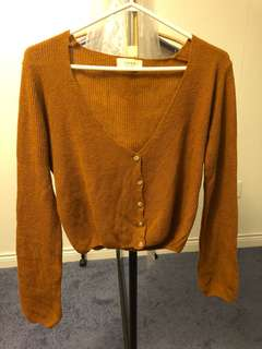 Cropped Cardigan Small