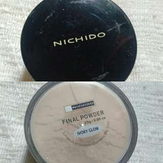 Nichido Final Powder in Ivory Glow