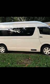 Hari Raya 13 seater van with driver