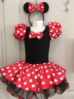 Minnie Party Costume + Hairband