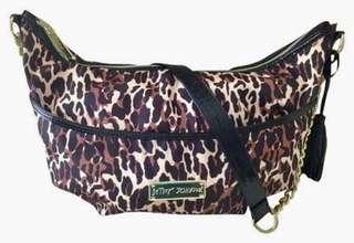 Betsey Johnson Cheetah crossbody bag