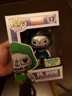 Dr. Doom plus 1 free pop