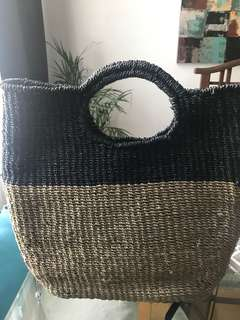 Rattan/wicker bag