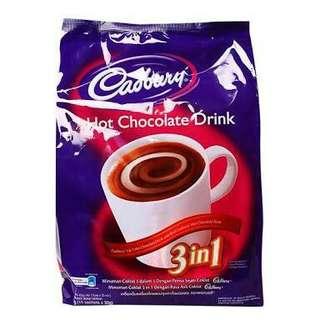 Casbury hot chocolate