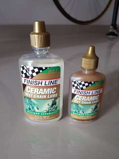 Finish Line Ceramic Wet Chain Lube 2 & 4oz