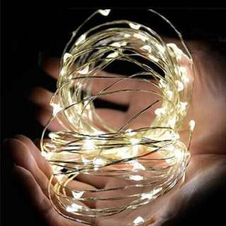 Warm LED light string