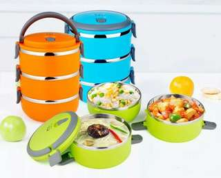 Stainless Steel Lunch Box 3 Layer