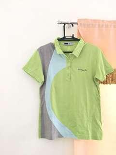 FILA Apple Green Polo