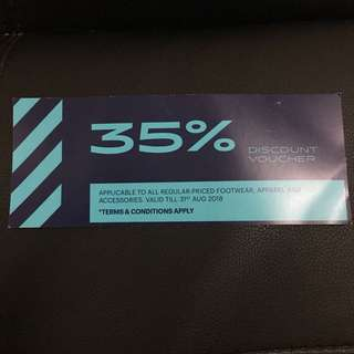 Asics Discount Voucher 35 Percent Off