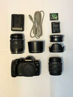 DSLR Olympus E520 dual lens kit