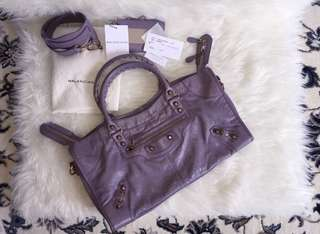 Balenciaga 2012 like purple