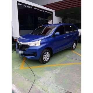 Toyota Avanza 1.3E Automatic transmission (Nebula Blue) JUNE 2016