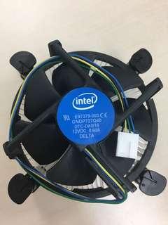 全新Intel CPU 風扇