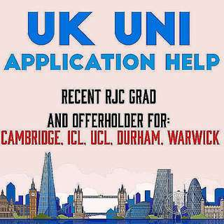 UK UNI APPLICATION HELP 🎓