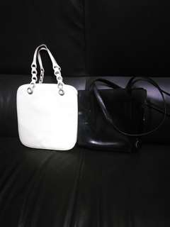 Prada white small bag