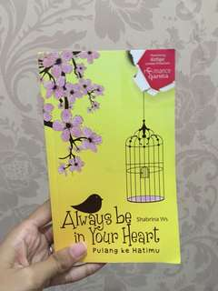 Novel always be in your heart