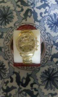 Jam tangan Gold wanita