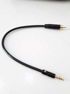 SPDIF Digital Coaxial Audio Cable 3.5mm to RCA