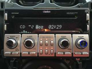 Clarion WXZ466MP 6disc car audio