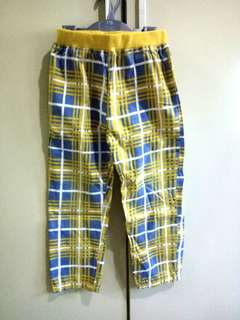 Mothercare Yellow Blue Trousers