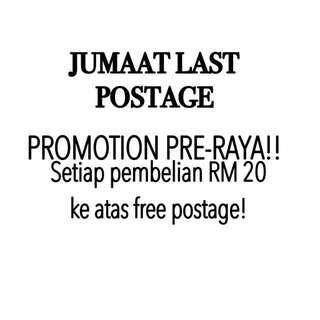 Postage & Promotion!