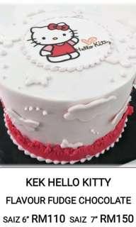 Hello Kitty Cake (choco fudge)