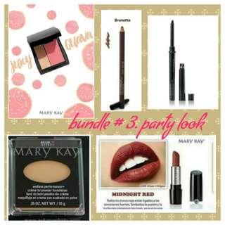 Mary kay onsale (less25%) bundle set #3- Party look