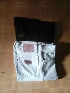 Celana jeans reguler fit uk.30 Rp.65rb dpt 2 #udagamuatlagi