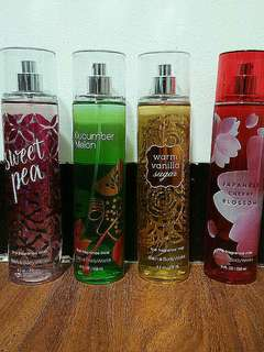 onhand Bath and Body Works