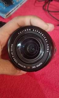 Fujifilm fujinon  XF 18-55mm f2.8 R  copotan fujifilm XE2s