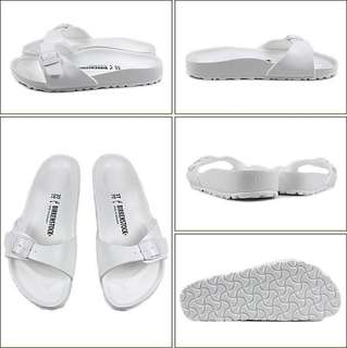 AUTHENTIC Birkenstock Eva White