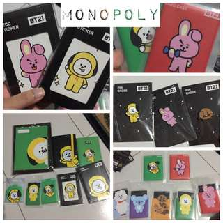 WTS BT21 EXTRAS ✨