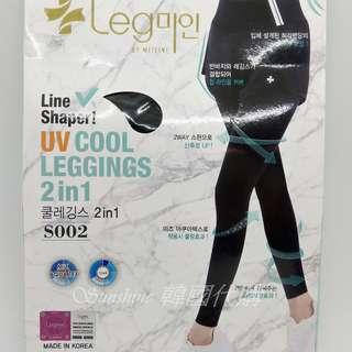 現貨 韓國正品 MIZLINE 冰絲涼感假兩件運動褲