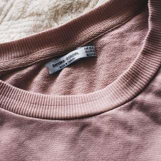 Blush and Oversized Pullover