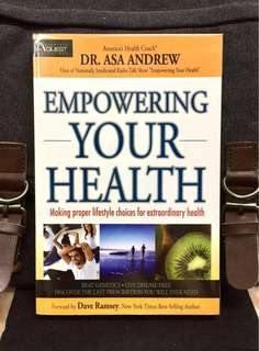 《New Book Condition + Discover How To Rivitalise A Total Health & Wellness In Life》Dr Asa Andrew - EMPOWERING YOUR HEALTH : Making Proper Lifestyle Choices For Extraordinary Health