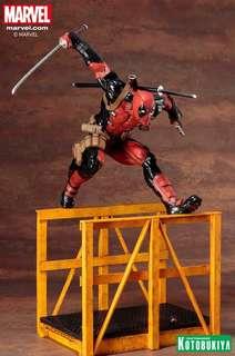 Marvel Now! ArtFX Kotobukiya SUPER DEADPOOL Figurine