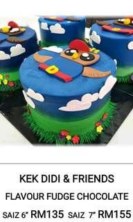 Didi & friends cake (choco fudge)