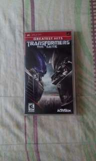 Psp Transformers The Game