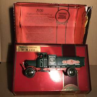 Limited Edition Matchbox Model of Yesteryear Y-9 1920 Leyland 3 Ton Subsidy Lorry
